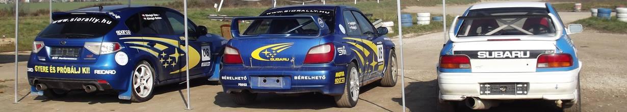 Subaru élményvezetés