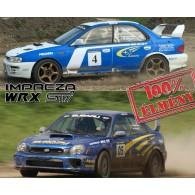 Subaru Impreza WRX STI rally autó élményvezetés - 5 körös